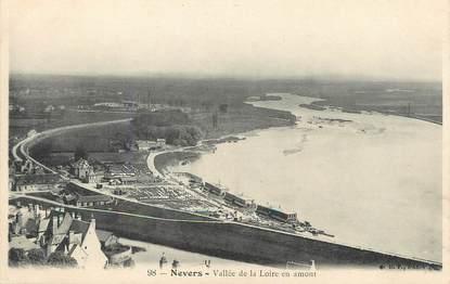 """/ CPA FRANCE 58 """"Nevers, vallée de la Loire en amont"""""""