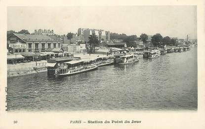 """/ CPA FRANCE 75016 """"Paris, station du point du jour"""""""