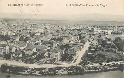 "/ CPA FRANCE 51 ""Epernay, panorama de Magenta"""