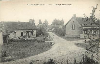 "CPA FRANCE 03  ""Saint Ennemond, village des Pérards"""