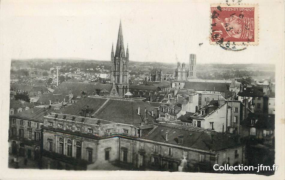 Cpa france 87 limoges vue g n rale 87 haute vienne for 87 haute vienne france