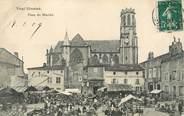 """54 Meurthe Et Moselle / CPA FRANCE 54 """"Toul, place du marché """""""