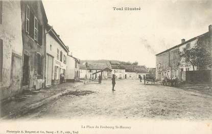 """/ CPA FRANCE 54 """"Toul, la place du Faubourg Saint Mansuy"""""""