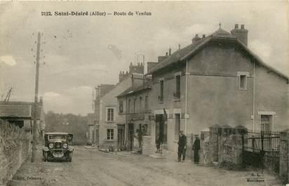 """CPA FRANCE 03  """"Saint Désiré, rte de Verdun"""" / AUTOMOBILE"""