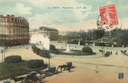 """/ CPA FRANCE 21""""Dijon, place Darcy"""""""