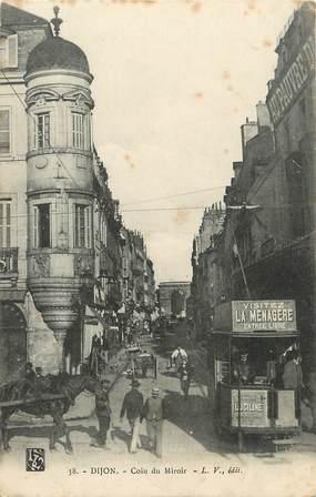 """/ CPA FRANCE 21""""Dijon, coin du miroir"""""""