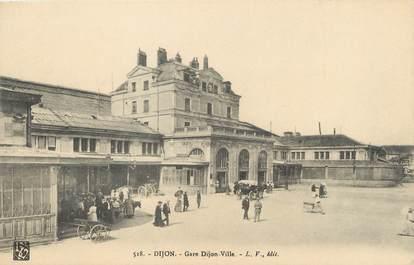 """/ CPA FRANCE 21""""Dijon, gare Dijon ville"""""""