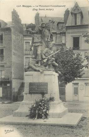 """/ CPA FRANCE 76 """" Dieppe, le monument commémoratif"""""""