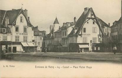 """CPA FRANCE 03 """"Env. de Vichy, Cusset, Place Victor Hugo"""""""