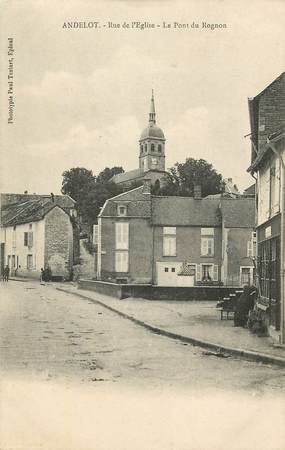 "CPA FRANCE 52 ""Andelot, rue de l'Eglise"""