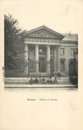 """CPA FRANCE 51 """"Reims, le palais de justice"""""""
