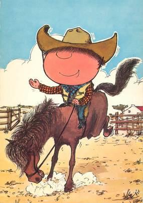 "CPA ILLUSTRATEUR FIX ""Chouchou cow boy"""