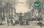 """84 Vaucluse / CPA FRANCE 84 """"Pertuis, fontaine du cours"""""""