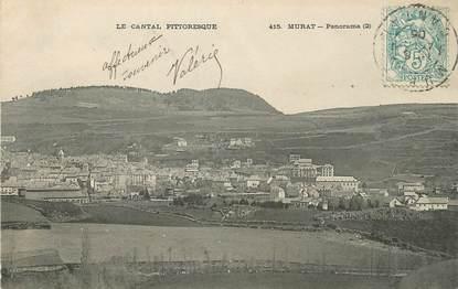 """/ CPA FRANCE 15 """"Murat, panorama"""""""
