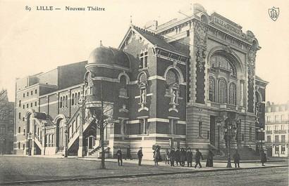 """/ CPA FRANCE 59 """"Lille, Nouveau Théâtre"""""""