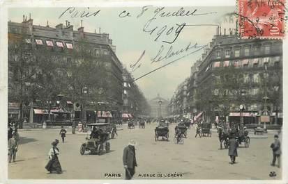 """/ CPA FRANCE 75002 """"Paris, avenue de l'Opéra"""""""