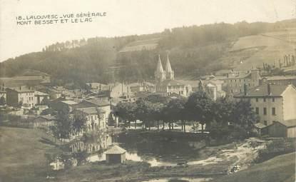 """/ CPA FRANCE 07 """"La Louvesc, vue générale Mont Besset et le lac"""""""