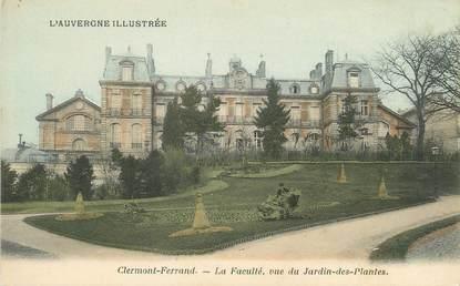 """/ CPA FRANCE 63 """"Clermont Ferrand, la faculté"""""""