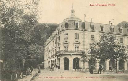 """/ CPA FRANCE 66 """"Vernet Les Bains, le grand hôtel du portugal"""""""
