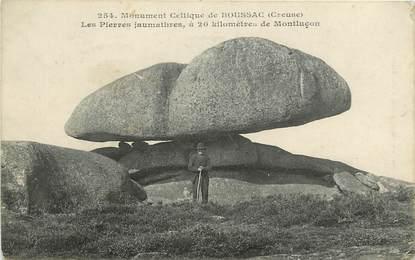 """CPA FRANCE 23 """"Boussac, dolmen, les pierres jaumathres, monument celtique"""""""