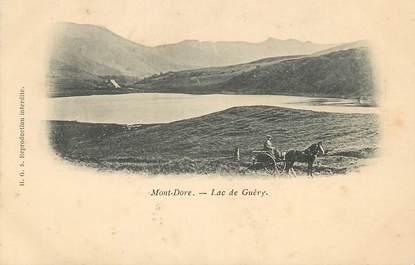 """CPA FRANCE 63 """"Mont Dore, lac de Guéry"""""""