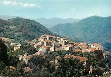 """/ CPSM FRANCE 20 """"Sainte Lucie de Tallano, vue d'ensemble du village"""""""