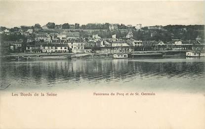 """CPA FRANCE 78 """"Le Pecq et Saint Germain"""