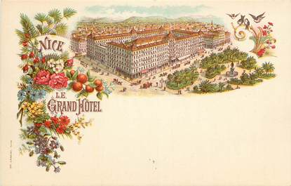 """CPA FRANCE 06 """"Nice, le Grand Hotel"""""""