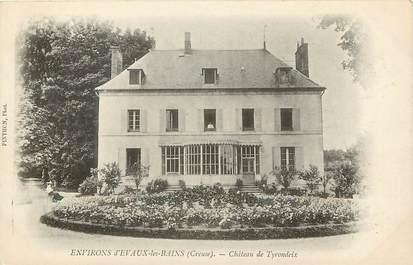 """CPA FRANCE 23 """"Env. d'Evaux les Bains, Chateau de Tyrondeix"""""""