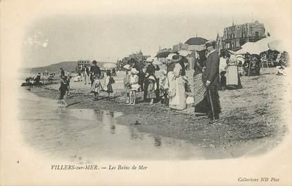"""CPA FRANCE 14 """"Villers sur Mer, les Bains de mer"""""""