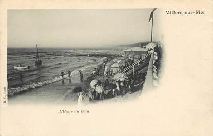 """CPA FRANCE 14 """"Villers sur Mer, L'Heure du Bain"""""""