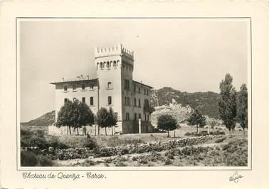 """/ CPSM FRANCE 20 """"Château de Quenza"""""""