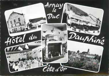 """/ CPSM FRANCE 21 """"Arnay Le Duc, hôtel du Dauphiné """""""