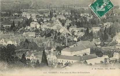 """CPA FRANCE 23 """"Guéret, vue prise du Haut de Grancheix"""""""