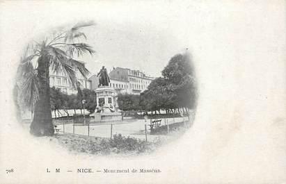 "CPA FRANCE 06 ""Nice, monument de Masséna"""
