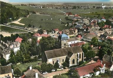 "/ CPSM FRANCE 21 ""Chambolle Musigny, l'église, le vignoble"""