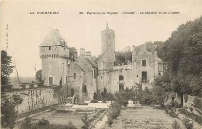 """CPA FRANCE 14 """"Creuilly, le chateau et les Jardins"""""""