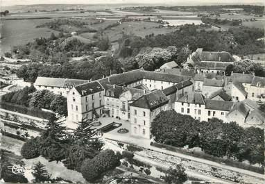 """/ CPSM FRANCE 21 """"Flavigny sur Ozerain, vue aérienne du Séminaire Saint Bernard"""""""