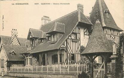 """CPA FRANCE 14 """"Cabourg, maison normande"""" / ARCHITECTURE"""