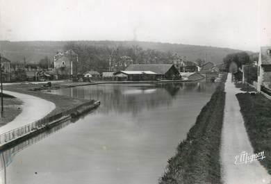 """/ CPSM FRANCE 21 """"Montbard,canal de Bourgogne, le port"""""""