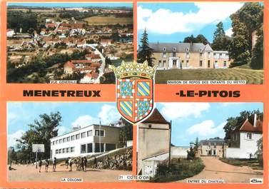 """/ CPSM FRANCE 21 """"Ménétreux Le Pitois"""""""