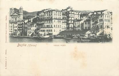 "CPA FRANCE 20 ""Corse, Bastia, vieux port"""