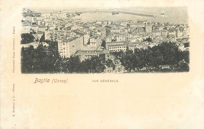 "CPA FRANCE 20 ""Corse, Bastia, vue générale"""