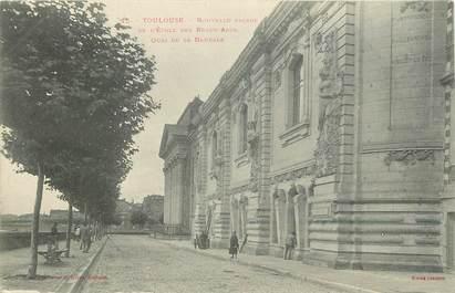 """CPA FRANCE 31 """"Toulouse, Ecole des Beaux Arts"""""""