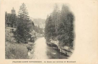 """CPA FRANCE 25 """"Le Doubs aux environs de Montbenoit"""""""