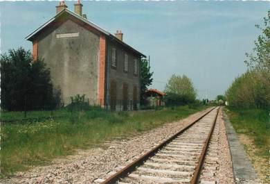 """/ CPSM FRANCE 21 """"Trouhans, la gare """""""