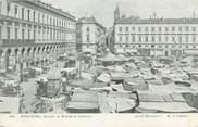 """31 Haute Garonne CPA FRANCE 31 """"Toulouse, arcades et marché du capitole"""""""