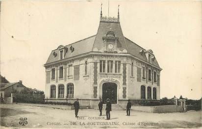 """CPA FRANCE 23 """"La Souterraine, Banque Caisse d'Epargne"""""""