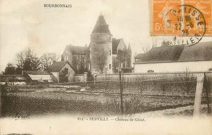 """CPA FRANCE 03 """"Servilly, Chateau de Gléné"""""""