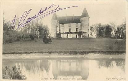 """CPA FRANCE 03 """"Chateau de Gléné à Servilly près Lapalisse"""""""
